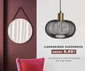 Candeeiros design para toda a casa desde 9,99€ - Só até 25 de outubro no wOne.pt Fashion