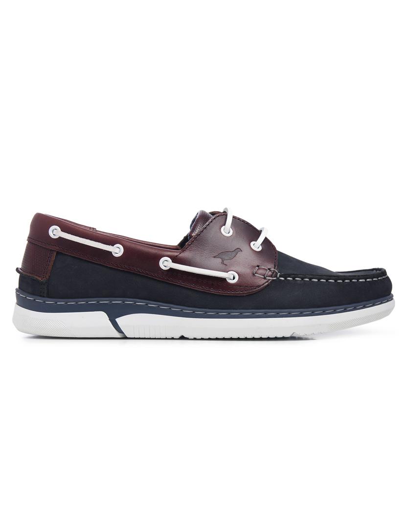 c01f817e2 Sapatos de Vela Miguel Infantes Homem Azul Marinho