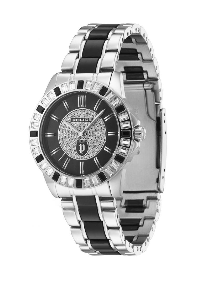 54d04b87fae Relógio Police Divine Aço inoxidável e Preto