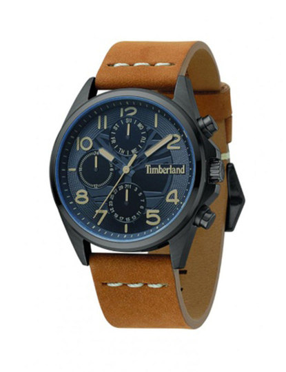 69f4181fa36 Relógio Timberland Fitchburg Camel e Azul