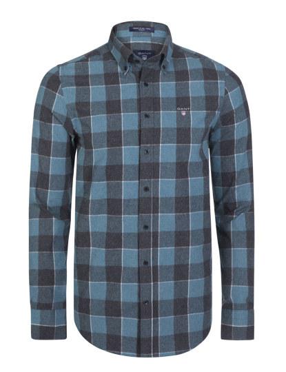 772cd6f87f Camisa Azul Navy Homem Gant