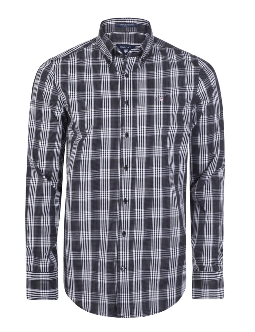 c7ee08e311 Camisa Gant Preta
