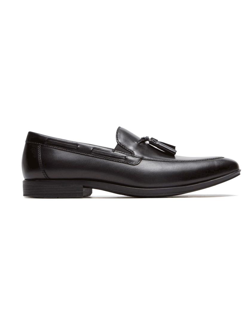Loafers Style Connected Tassel Pretos , até 2020 03 11