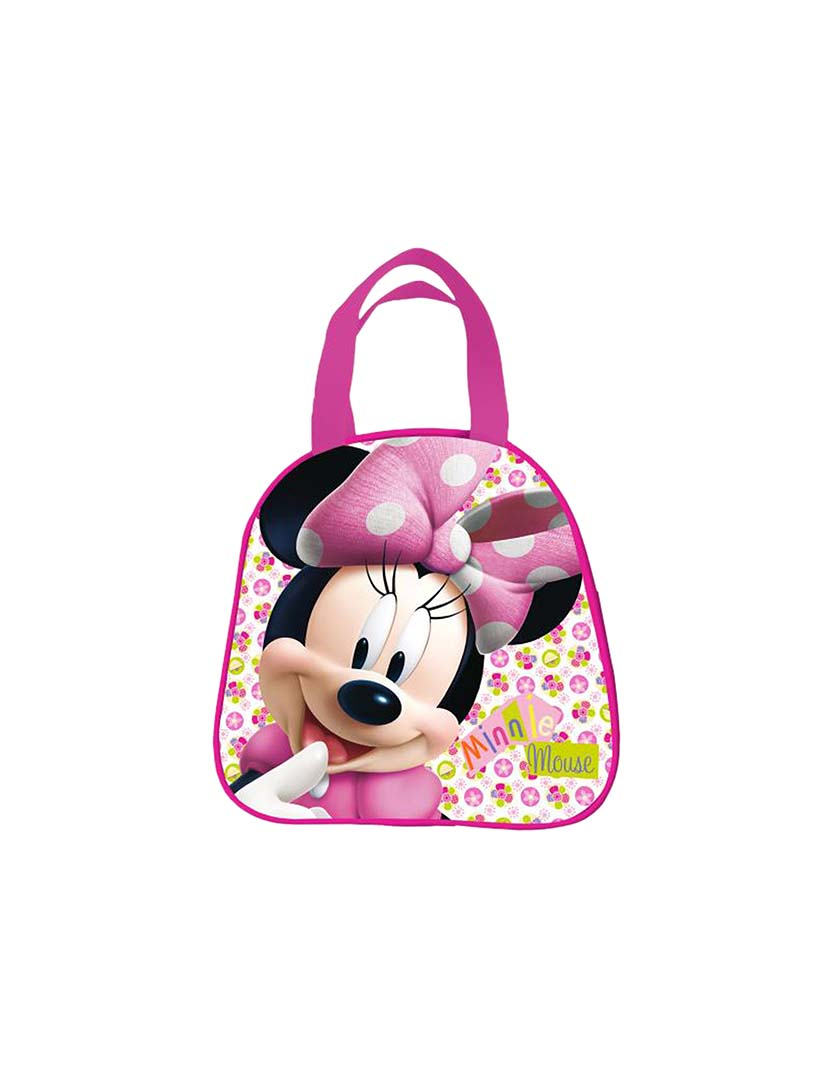 Kit Mochila Minnie Infantil 19m Plus Lancheira Estojo
