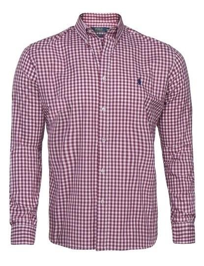 6a0e963c8 Camisa Ralph Lauren Xadrez Branca e Vermelha, até 2019-05-21