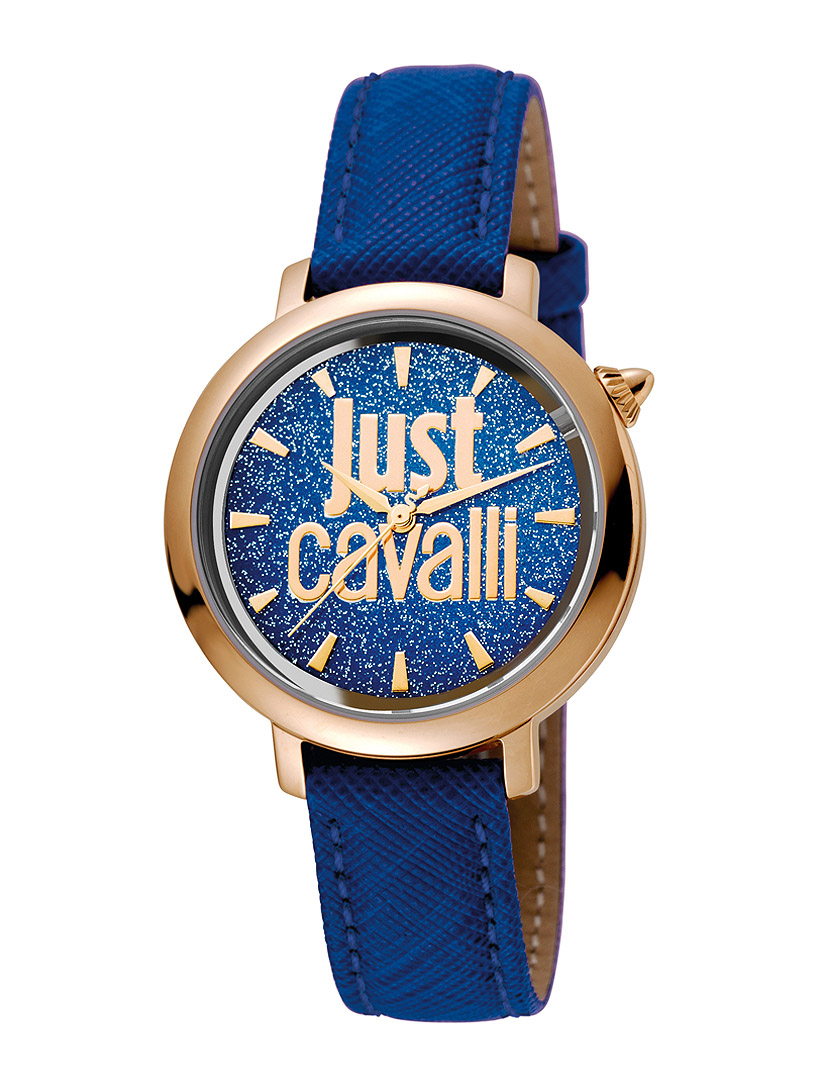 58fa942aefb Relógio Just Cavalli Senhora Logo Azul