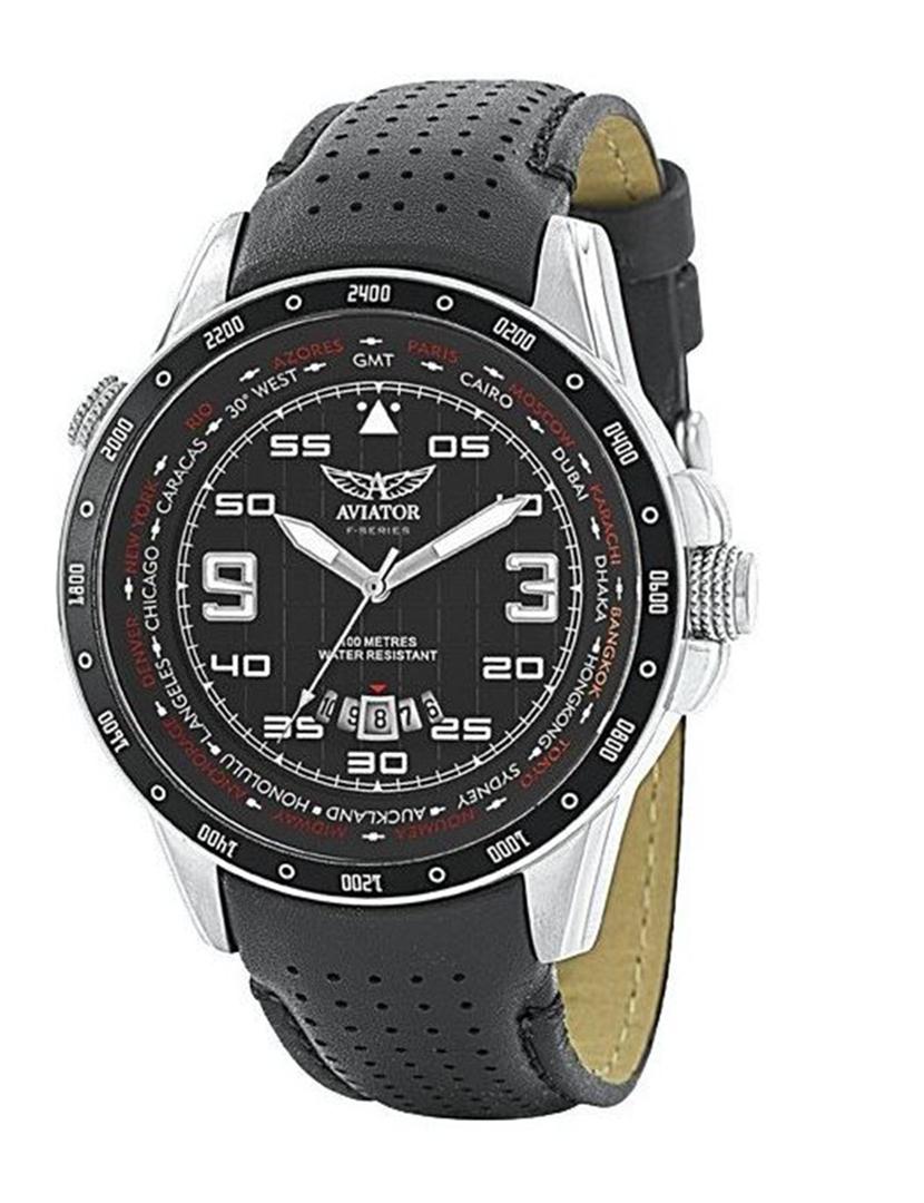 044aa4883cf Relógio Homem Aviator Preto