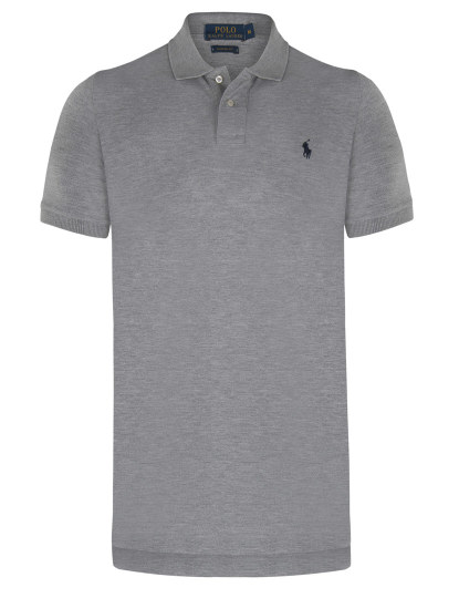 Camisa polo masculina Polo Ralph Lauren Classic Black