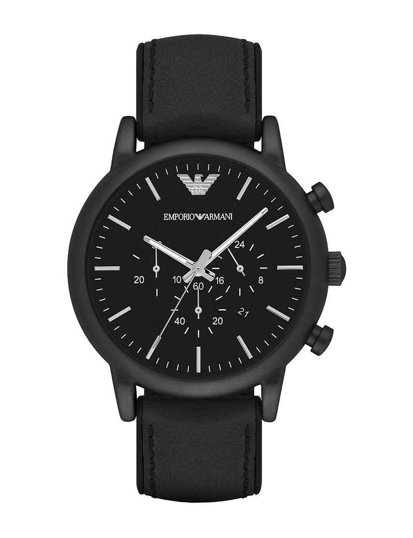 2bebf9a45 Relógio Emporio Armani Homem Preto. Tamanho Único. Comprar