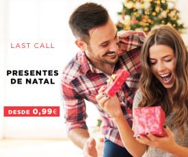 Prendas de Natal desde 0,99€ » Entregas em 72h