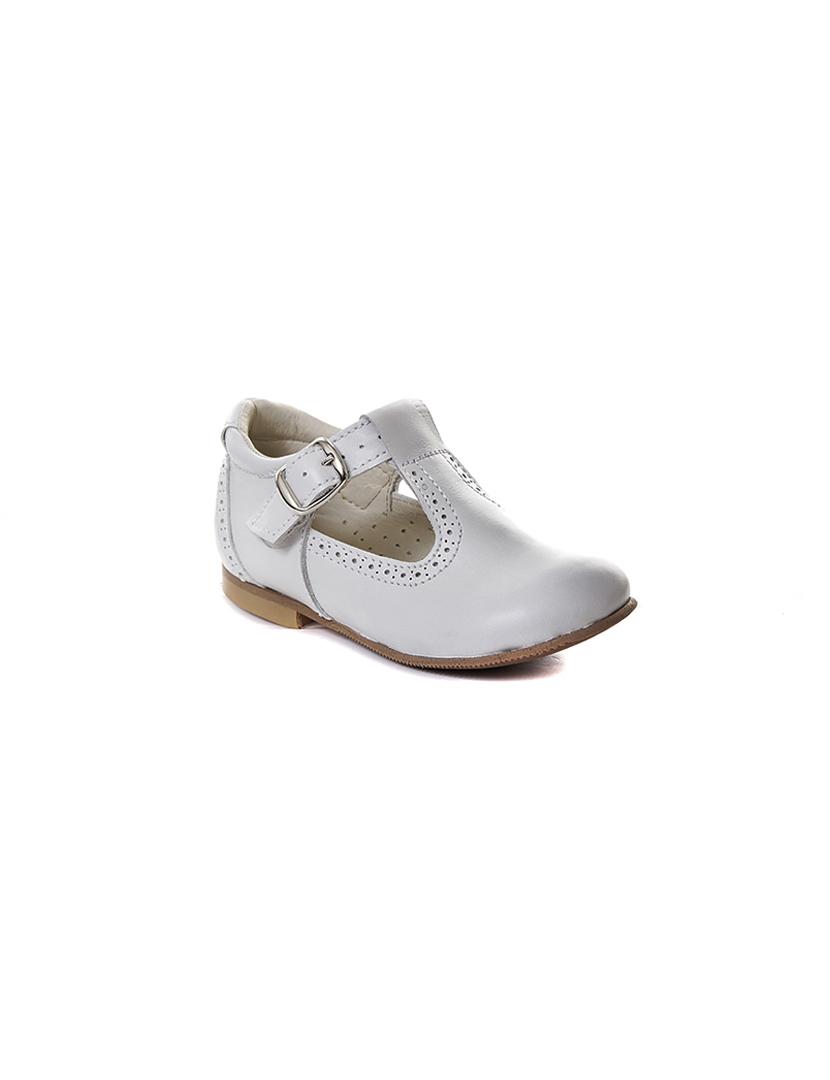 Sapato Feminino Oxford Aberto Em Napa Verniz Branco N:37