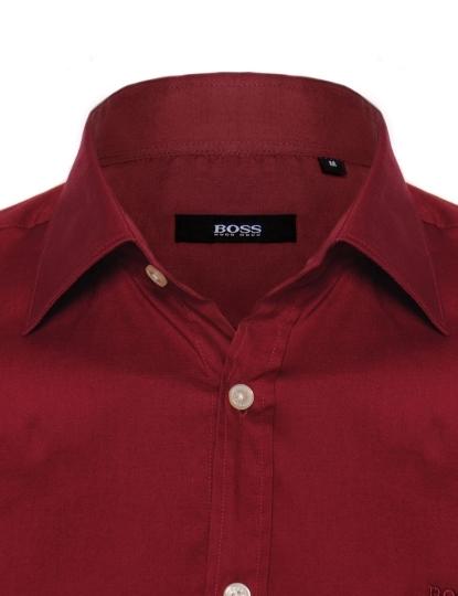 Camisa Social Hugo Boss Preta Lisa