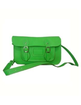 Bolsa em Couro Verde