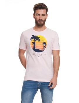 T-shirt Homem Kindwell Rosa Claro