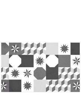 Tapete De Cozinha Vinyl Loft Tiles 80Cm