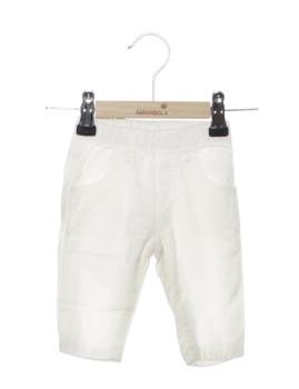 Calças Bebé Girandola Branco Ref9
