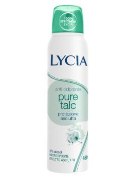 Desodorizante Spray Gas Pure Talc Lycia 150 ml