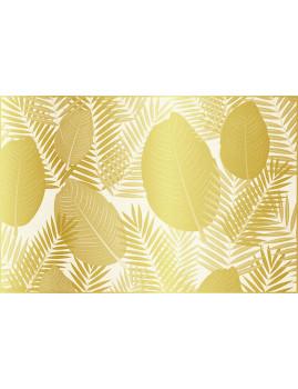 Tapete de Vinil Honolulu Dourado 50x100