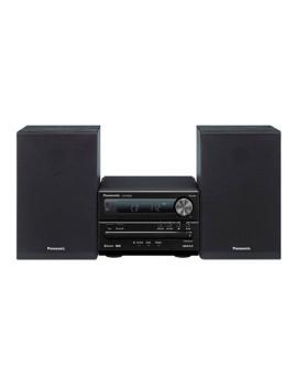 Mini-Aparelhagem de Música Panasonic SC-PM251EC-K Bluetooth HiFi 20W Preto