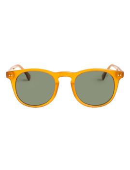 Óculos de Sol Quiksilver Round Brilhante Cristal Castanho / Gradiente Polarizado