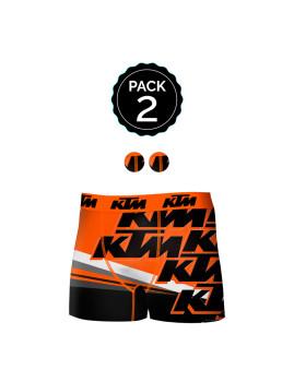 Pack de 2 Boxers KTM Multicoloridoido