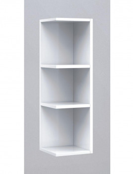 Módulo de Canto 20 cm  Branco Brilho