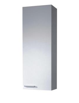 Coluna Concept Suspensa 1 Porta  Branco Brilho