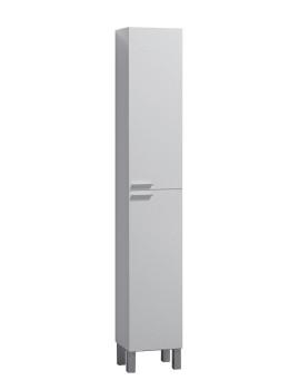 Coluna Concept 2 Portas Branco Brilho