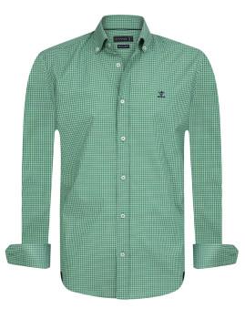Camisa Sir Raymond Tailor Lucky Kick Homem Verde