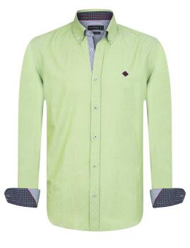 Camisa Sir Raymond Tailor Refinish Homem Verde