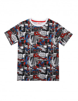 T-shirt Marvel Criança Comic Multicolor