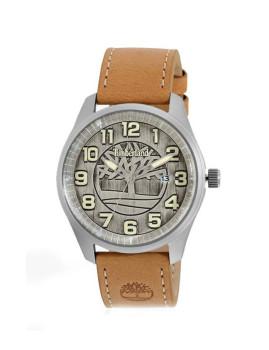 Relógio Timberland Oswald Prateado Vintage