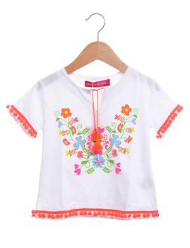 T-shirt Agatha Ruiz De La Prada Chili Branco