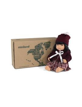 imagem de Conj. Boneca Bebé Asiática 38 cm + Vestido de Inveno2