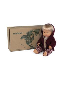 imagem de Conj. Boneco Bebé Caucasino 38 cm + Conj. Calças Inverno2
