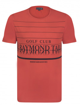 T-Shirt Sir Raymond Taylor Forged Coral