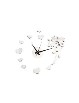 Relógio De Parede Eva Fada Cromado