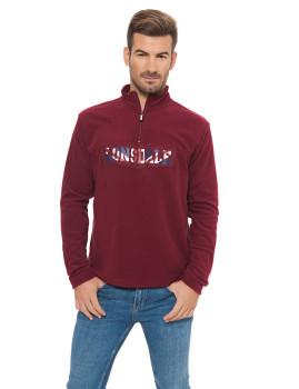 Camisola Polar Lonsdale Bordeaux