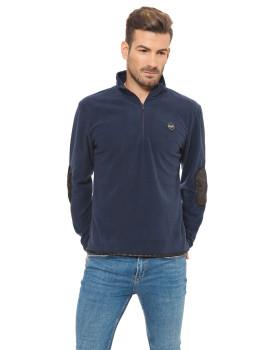 Camisola Polar Lonsdale Azul Escura e Preta
