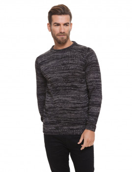 Jersey tricot decote redondo Lonsdale Antracite