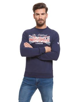 Sweatshirt Lonsdale Azul Marinho