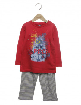 Pijama  Girandola Vermelho