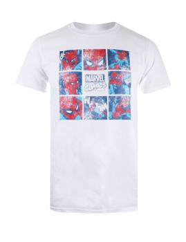 T-shirt Marvel  Wall Crawler Branca
