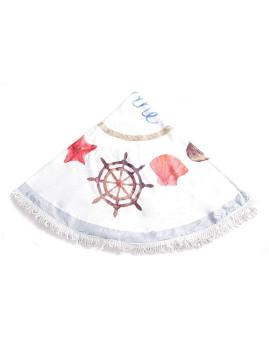Toalha Circular Mar