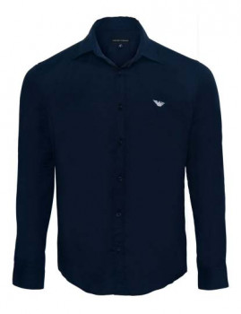 imagem de Camisa Armani Homem Azul Navy1