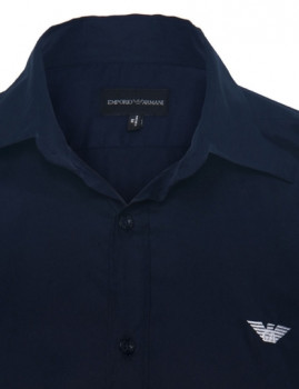 imagem de Camisa Armani Homem Azul Navy2