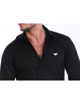 imagem de Camisa Armani Homem Preto2
