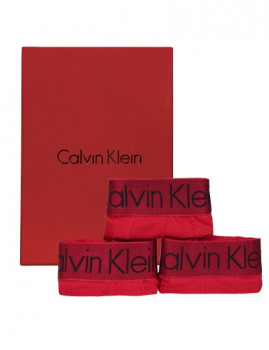 imagem de Pack 3 Boxers Calvin Klein Homem Vermelho1