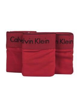imagem de Pack 3 Cuecas Bikini Calvin Klein Senhora Vermelho3