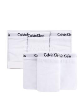 imagem de Pack 3 Cuecas Bikini Calvin Klein Senhora Branco3